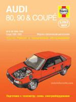 Audi 80 / Audi 90 / Audi Coupe (Ауди 80 / Ауди 90 / Ауди Купе). Руководство по ремонту. Модели с 1986 по 1990 год выпуска, оборудованные бензиновыми двигателями