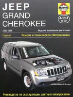 Jeep Grand Cherokee (Джип Гранд Чероки). Руководство по ремонту, инструкция по эксплуатации. Модели с 2005 по 2009 год выпуска, оборудованные бензиновыми двигателями