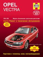 Opel Vectra (Опель Вектра). Руководство по ремонту. Модели с 1995 по 1998 год выпуска, оборудованные бензиновыми и дизельными двигателями