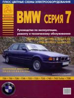 BMW 7 (БМВ 7). Руководство по ремонту, инструкция по эксплуатации. Модели с 1977 по 1994 год выпуска, оборудованные бензиновыми двигателями