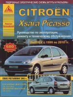 Citroen Xsara Picasso (Ситроен Ксара Пикассо). Руководство по ремонту, инструкция по эксплуатации. Модели с 1999 по 2010 год выпуска, оборудованные бензиновыми и дизельными двигателями