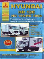 Hyundai HD 120 / HD 160 - HD 1000 (Хюндай ХД 120 / ХД 160 - ХД 1000). Руководство по ремонту, эксплуатации и техническому обслуживанию. Модели с 1997 года выпуска (+ рестайлинг 2004 / 2009 гг.) оборудованные дизельными двигателями.