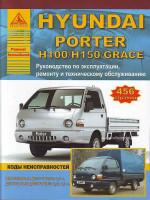 Hyundai Porter / H100 / Н150 / Grace (Хюндай Портер / Х100 / Х150 / Грейс). Руководство по ремонту, инструкция по эксплуатации. Модели, оборудованные бензиновыми и дизельными двигателями