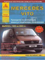 Mercedes Vito (Мерседес Вито). Руководство по ремонту. Модели 1995-2003 годов выпуска, оборудованные бензиновыми и дизельными двигателями