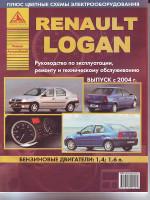 Renault Logan (Рено Логан). Руководство по ремонту, инструкция по эксплуатации. Модели с 2004 года выпуска, оборудованные бензиновыми двигателями