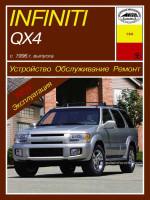 Infiniti QX 4 (Инфинити Кью-Икс 4). Руководство по ремонту, инструкция по эксплуатации. Модели с 1996 года выпуска, оборудованные бензиновыми двигателями