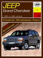Jeep Grand Cherokee (Джип Гранд Чероки). Руководство по ремонту, инструкция по эксплуатации. Модели с 1993 по 1995 год выпуска, оборудованные бензиновыми двигателями