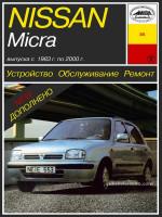 Nissan Micra (Ниссан Микра). Руководство по ремонту. Модели с 1983 по 2000 год выпуска, оборудованные бензиновыми двигателями