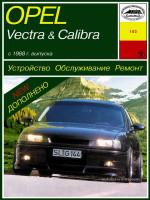 Opel Vectra / Calibra (Опель Вектра / Калибра). Руководство по ремонту. Модели с 1988 года выпуска, оборудованные бензиновыми и дизельными двигателями