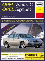 Opel Vectra C / Signum (Опель Вектра С / Сингум). Руководство по ремонту, инструкция по эксплуатации. Модели с 2002 года выпуска, оборудованные бензиновыми и дизельными двигателями