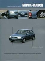 Nissan Micra-March (Ниссан Микра-Марч). Руководство по ремонту, инструкция по эксплуатации. Модели с 1992 по 2002 год выпуска, оборудованные бензиновыми двигателями