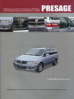 Nissan Presage (Ниссан Пресаж). Руководство по ремонту, инструкция по эксплуатации. Модели с 1998 по 2003 год выпуска, оборудованные бензиновыми двигателями