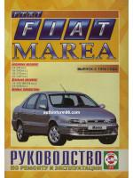 Fiat Marea (Фиат Мареа). Руководство по ремонту, инструкция по эксплуатации. Модели с 1996 года выпуска, оборудованные бензиновыми и дизельными двигателями