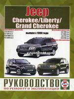 Jeep Cherokee / Liberty / Grand Cherokee (Джип Чероки / Либерти / Гранд Чероки). Руководство по ремонту, инструкция по эксплуатации. Модели с 1999 года выпуска, оборудованные бензиновыми и дизельными двигателями