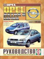 Opel Astra G / Zafira (Опель Астра Г / Зафира). Руководство по ремонту. Модели с 1998 года выпуска, оборудованные бензиновыми двигателями