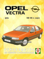Opel Vectra (Опель Вектра). Руководство по ремонту, инструкция по эксплуатации. Модели с 1988 по 1995 год выпуска, оборудованные дизельными двигателями