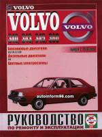 Volvo 340 / 343 / 346 / 360 (Вольво 340 / 343 / 346 / 360). Руководство по ремонту, инструкция по эксплуатации. Модели с 1976 года выпуска, оборудованные бензиновыми и дизельными двигателями