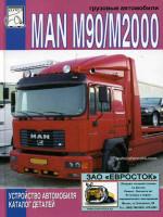 MAN M90 / M2000 (МАН М90 / М2000). Каталог деталей. Модели, оборудованные дизельными двигателями