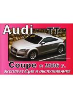 Audi ТТ Coupe (Ауди ТТ Купе). Инструкция по эксплуатации, техническое обслуживание. Модели с 2006 года выпуска, оборудованные бензиновыми двигателями