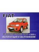 Fiat Panda / Panda 4x4 (Фиат Панда / Панда 4х4). Инструкция по эксплуатации, техническое обслуживание. Модели с 2003 года выпуска, оборудованные бензиновыми и дизельными двигателями