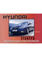 Hyundai Elantra (Хюндай Элантра). Инструкция по эксплуатации, техническое обслуживание. Модели с 2006 года выпуска, оборудованные бензиновыми и дизельными двигателями