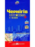 План города Чернигов