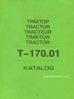 Т-170.01 (Т-130). Каталог деталей трактора. Модели, оборудованные дизельными двигателями