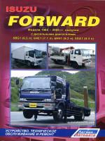 Isuzu Forvard (Исузу Форвард). Руководство по ремонту, инструкция по эксплуатации. Модели выпускаемые с 1985 по 2000 год, оборудованные дизельными двигателями.