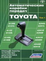Автоматические коробки передач Toyota (АКП Тойота). Руководство по ремонту и диагностики, устройство и принцип работы. 1-й том