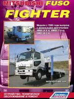 Mitsubishi Fuso Fighter (Мицубиси Фусо Файтер). Руководство по ремонту, инструкция по эксплуатации. Модели с 1999 года выпуска, оборудованные дизельными двигателями.