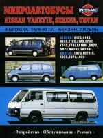 Nissan Vanette / Serena / Urvan (Ниссан Ванетт / Серена / Урван). Руководство по ремонту. Модели с 1979 по 1993 год выпуска, оборудованные бензиновыми и дизельными двигателями