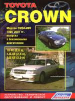 Toyota Crown (Тойота Краун). Руководство по ремонту, инструкция по эксплуатации. Модели с 1995 по 2001 год выпуска, оборудованные бензиновыми двигателями