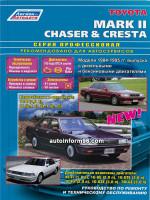 Toyota Mark II / Chaser / Cresta (Тойота Марк 2 / Чайзер / Креста). Руководство по ремонту. Модели с 1984 по 1995 год выпуска, оборудованные бензиновыми и дизельными двигателями