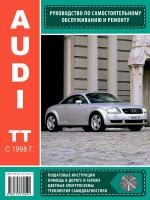 Audi TT (Ауди ТТ). Руководство по ремонту, инструкция по эксплуатации. Модели с 1998 года выпуска, оборудованные бензиновыми двигателями
