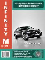 Infinity M (Инфинити М). Руководство по ремонту, инструкция по эксплуатации. Модели с 2011 года выпуска, оборудованные бензиновыми двигателями