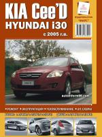 Kia Ceed / Hyundai I30 (Киа Сид / Хундай И30). Руководство по ремонту, инструкция по эксплуатации. Модели с 2005 года выпуска, оборудованные бензиновыми и дизельными двигателями.