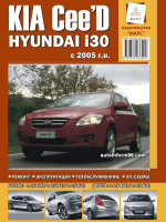 Руководство по ремонту и эксплуатации Kia Ceed / Hyundai I30