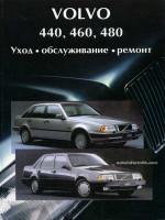 Volvo 440 / 460 / 480 (Вольво 440 / 460 / 480). Руководство по ремонту. Модели с 1987 по 1992 год выпуска, оборудованные бензиновыми двигателями