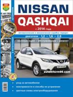 Nissan Qashqai (Ниссан Кашкай). Руководство по ремонту, инструкция по эксплуатации. Модели с 2014 года выпуска, оборудованные бензиновыми двигателями