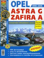 Opel Astra / Zafira (Опель Астра / Зафира). Руководство по ремонту в фотографиях, инструкция по эксплуатации. Модели с 1998 по 2006 год выпуска, оборудованные бензиновыми и дизельными двигателями