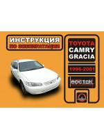 Toyota Camry Gracia (Тойота Камри Грация). Инструкция по эксплуатации, техническое обслуживание. Модели с 1996 по 2001 год выпуска, оборудованные бензиновыми двигателями