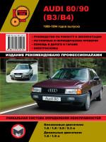Audi 80 / Audi 90 (Ауди 80 / Ауди 90). Руководство по ремонту и эксплуатации. Модели с 1986 по 1994 год выпуска, оборудованные бензиновыми и дизельными двигателями