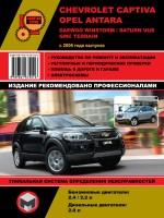 Chevrolet Captiva / Opel Antara / Daewoo Winstorm / Saturn Vue / GMC Terrain (Шевроле Каптива / Опель Антара / Дэу Винсторм / Сатурн Вуе / ДЖИ-ЭМ-СИ Терраин). Модели с 2006 года выпуска, оборудованные бензиновыми и дизельными двигателями
