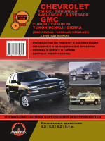 Chevrolet Tahoe / Suburban / GMC Yukon / Denali / Sierra (Шевролет Тахо / Сабурбан / Аваланч / Сильверадо и ДжиЭмСи Юкон / Денали / Сиерра). Руководство по ремонту, инструкция по эксплуатации. Модели с 2000 года выпуска.