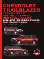 Chevrolet Trailblazer / Trailblazer EXT / GMC Envoy / Envoy XL / Oldsmobile Bravada (Шевроле ТрейлБлейзер / ТрейлБлейзер ЕХТ / Джи-Эм-Си Инвой / Инвой Икс-Эль / Олдсмобиль Бравада). Модели с 2002 года выпуска