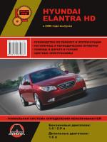 Hyundai Elantra HD (Хюндай Элантра АшД). Руководство по ремонту, инструкция по эксплуатации. Модели с 2006 года выпуска, оборудованные бензиновыми двигателями