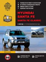 Hyundai Santa Fe / Santa Fe Classic (Хундай Санта Фе / Хундай Санта Фе Классик). Руководство по ремонту, инструкция по эксплуатации. Модели с 2000 года выпуска  (+обновления 2004 г.), оборудованные бензиновыми и дизельными двигателями.