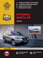 Hyundai Santa Fe (Хюндай Санта Фе). Руководство по ремонту, инструкция по эксплуатации. Модели с 2006 по 2010 год выпуска, оборудованные бензиновыми и дизельными двигателями