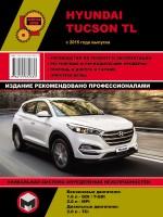 Hyundai Tucson TL (Хюндай Туксон ТЛ). Руководство по ремонту, инструкция по эксплуатации. Модели с 2015 года выпуска, оборудованные бензиновыми и дизельными двигателями