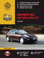 Infiniti EX25 / EX30d / EX35 / EX37 / Nissan Skyline Crossover (Инфинити ЕХ25 / ЕХ30д / ЕХ35 / ЕХ37 / Ниссан Скайлайн Кроссовер). Руководство по ремонту, инструкция по эксплуатации. Модели с 2007 года выпуска.